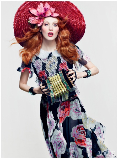 Karen Elson Vogue, June 2011 Photo Craig McDean
