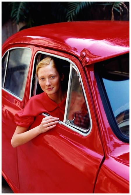 Maggie Rizer Arthur Elgort, Vogue, June 1999