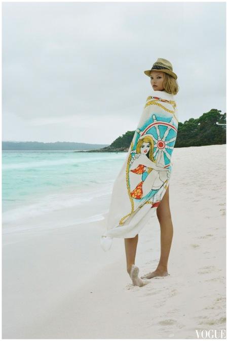 Gemma Ward Jul 2006 %22The Girl from Oz%22 a Photo Corinne Day