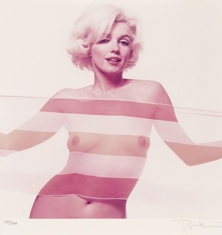 Marilyn Monroe Bert Stern 1962 Last Setting d