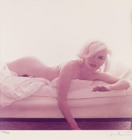 Marilyn Monroe Bert Stern 1962 Last Setting e
