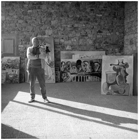 Pablo Picasso At His Home In Mougins, 1965 Photo Cecil Beaton
