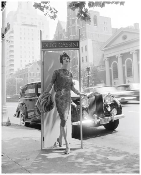Anne St.Marie for Oleg Cassini ca 1950's Photo William Helburn