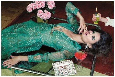 Bianca Balti Miles Aldridge, Vogue Italia Agosto 2011