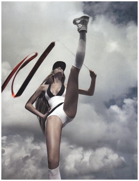 Britt Maren Photo Greg Lotus (Olympia - Vogue Russia June 2012)