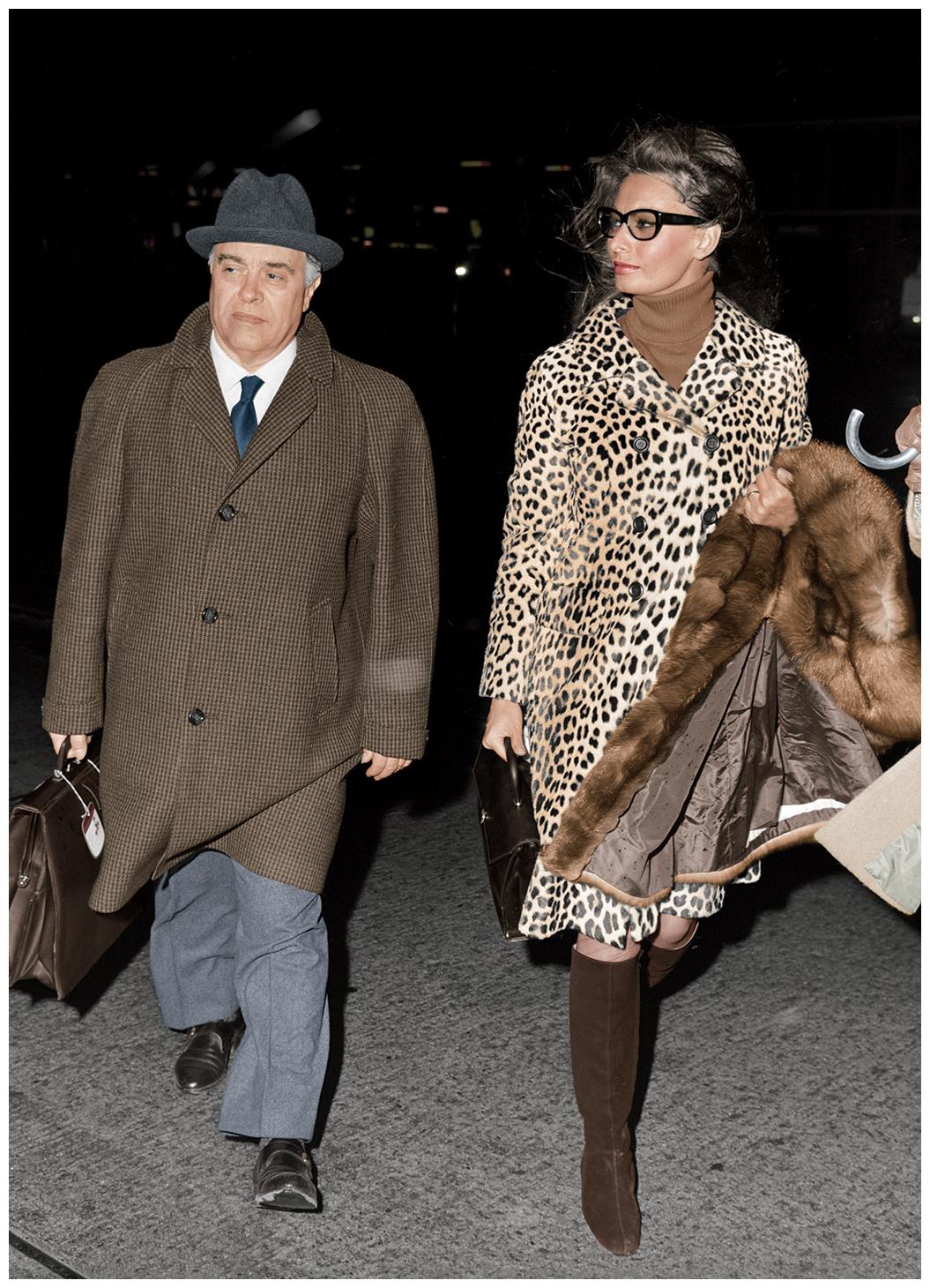 Carlo Ponti e Sophia loren Svizzera 1967