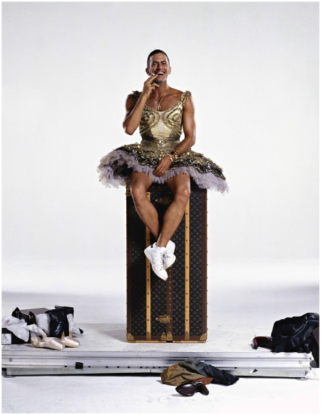 Marc Jacobs, Harper's Bazaar US, Paris, 2007 - Photo Jean-Paul Goude