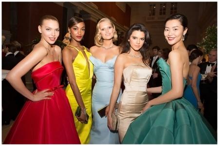 Arizona Muse, Jourdan Dunn, Toni Garrn, Kendall Jenner, and Liu Wen Photo Taylor Jewell