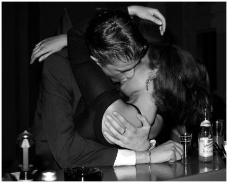 Berlin Kiss 1996 Photo Herry Benson b