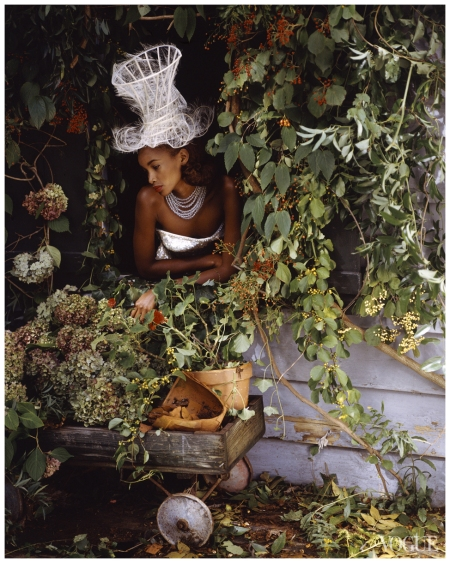 Beverly Peele as Snow White, photographed by Bruce Weber Vogue, December 1991