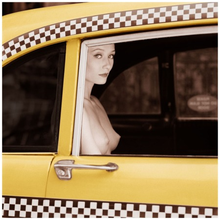 Checker Cab New York 1990 Photo Patrick Lichfield