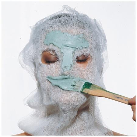 Face Mask Vogue, December 1997 Photo Irving Penn