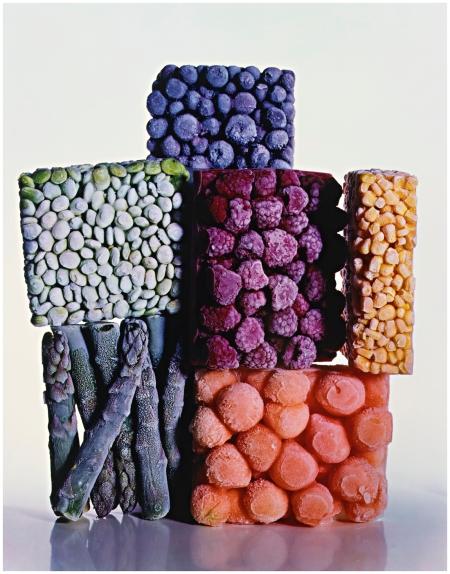 'Frozen Foods, NEW YORK CITY' 1977 Photo Irving Penn