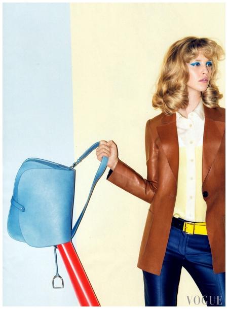 Julia Frauche  US Vogue Photo Raymond Meier