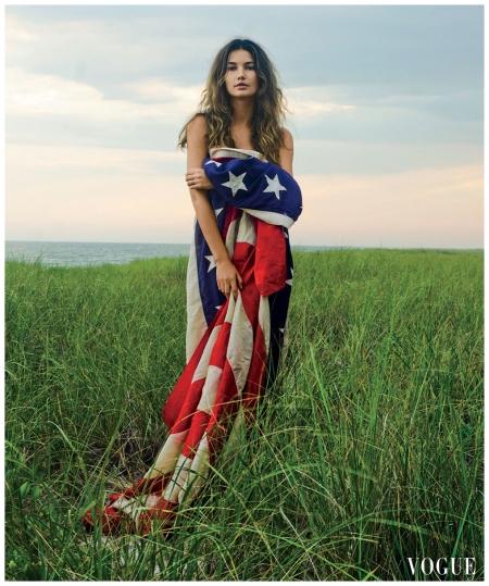 Lily Aldridge Photog Claiborne Swanson Frank, Vogue, March 2012