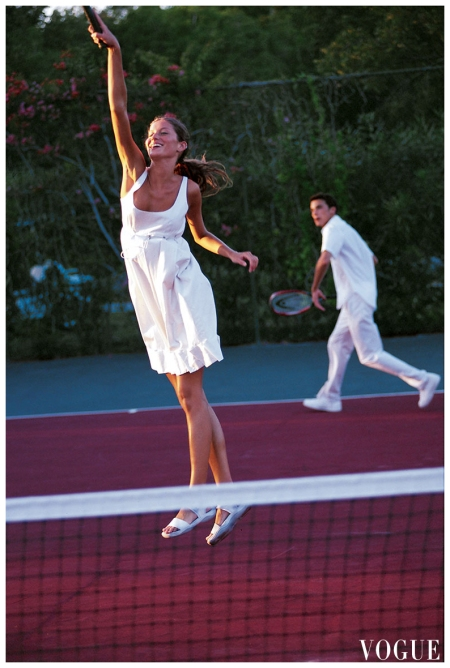 Photo Arthur Elgort, Vogue, April 1999