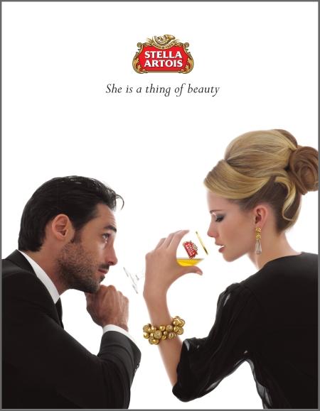Photo Bert Stern Stella Artois ads