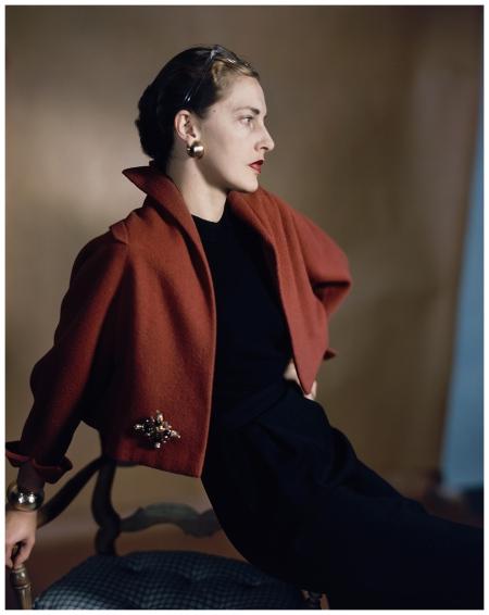 Slim Keith Horst P. Horst, Vogue, February 1949