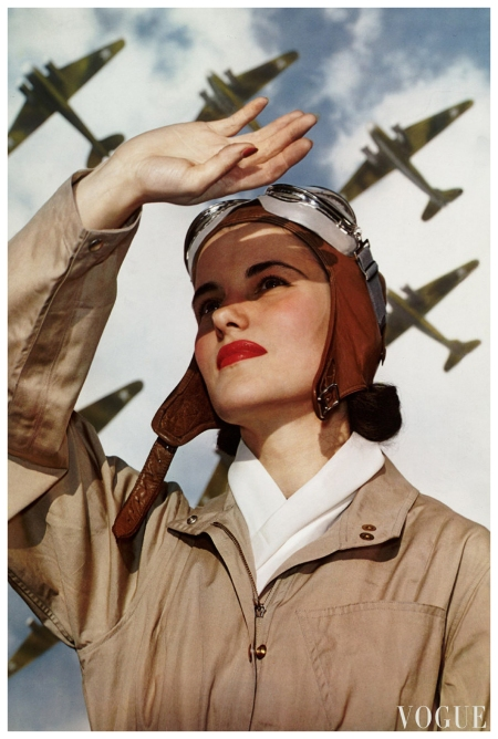 Soldiers of the Sky Vogue Nickolas Muray 1940