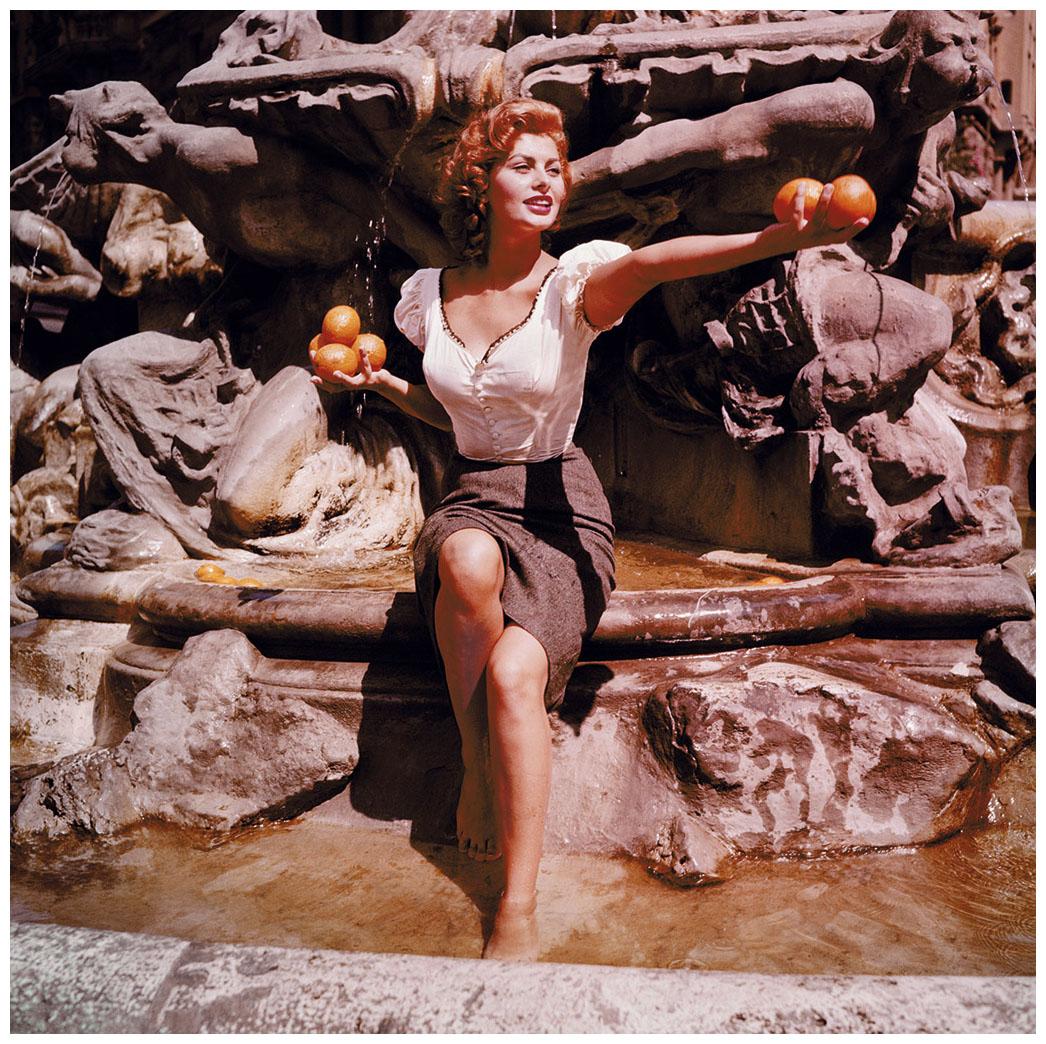 Sophia Loren, Rome, 1955 | © Pleasurephoto