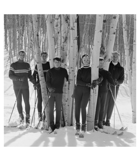 Ann Bonfoey Taylor designer  of ski clothing and fashion icon Olympic Ski Squad in 1939