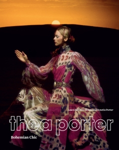 Ann Schaufuss Uk Vogue December 1970 Thea Porter Bohemian Chic Laura McLaws Helms (Author), Venetia Porter (Author) Photo Clive Arrowsmith cover
