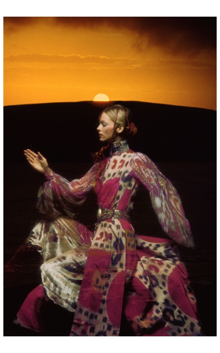 Ann Schaufuss Uk Vogue December 1970 Thea Porter Bohemian Chic Laura McLaws Helms (Author), Venetia Porter (Author) Photo Clive Arrowsmith