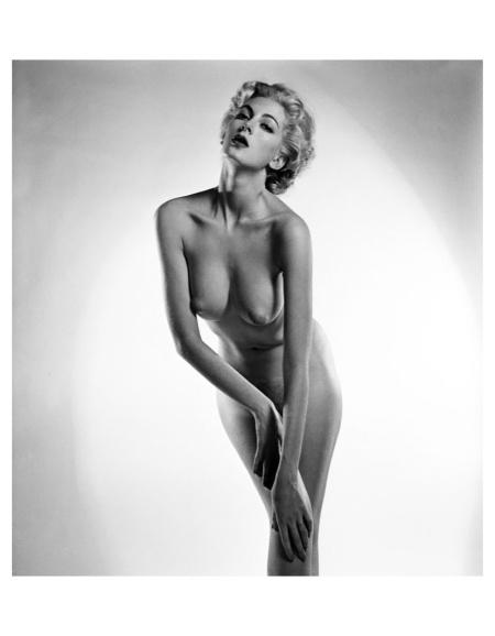 Carmen Dell'Orefice photo Peter Basch, 1940's a