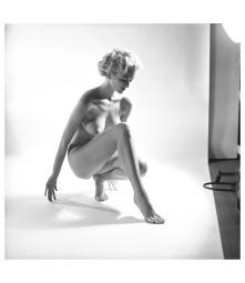 Carmen Dell'Orefice photo Peter Basch, 1940's b