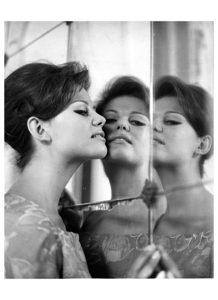 'Claudia Cardinale' 1950 Photo Peter Basch