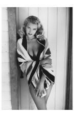 Eve Meyer as Evelyn Eugene Turner 1955 Photo Russ Meyer b