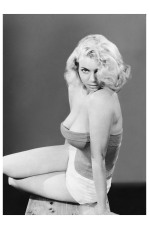 Eve Meyer as Evelyn Eugene Turner 1955 Photo Russ Meyer c