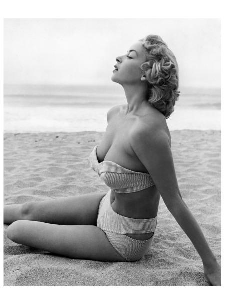 Eve Meyer as Evelyn Eugene Turner 1955 Photo Russ Meyer