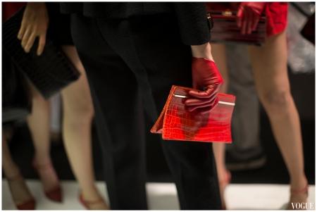 Giorgio Armani Couture fall 2014 Photo Kevin Tachman