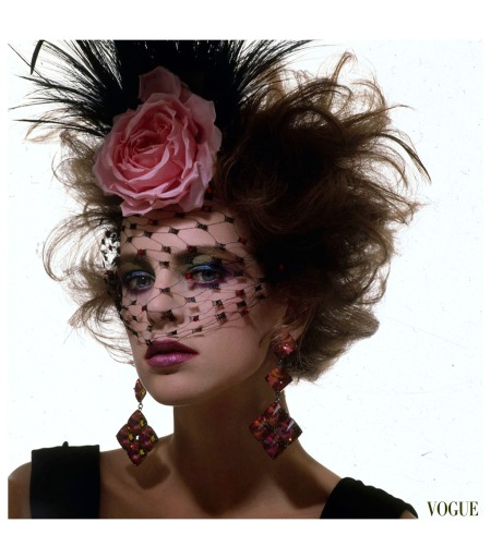 Laetitia Firmin-Didot, Vogue October 1983 Photo Irving Penn