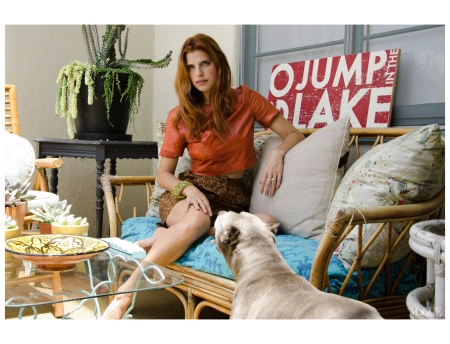 Lake Bell Actress Director Photographed by Claiborne Swanson Frank
