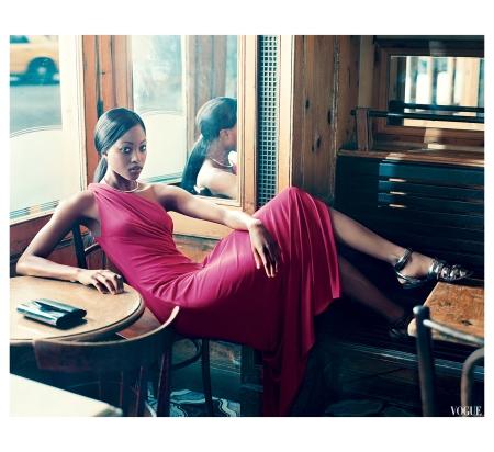 Nyasha Matonhodze Norman Jean Roy, Vogue, December 2011