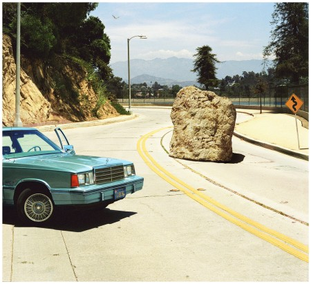 Photo Alex Prager, 1-18pm, Silverlake Drive, 2012