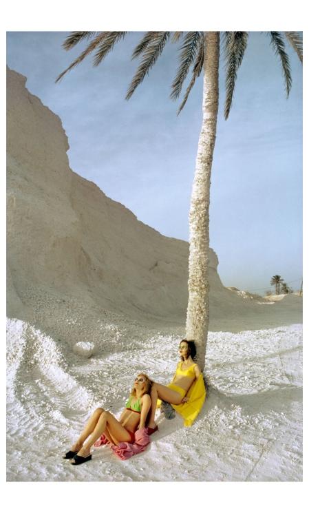 Tunisia Date 1972 Client Elle - Photo Gosta Peterson