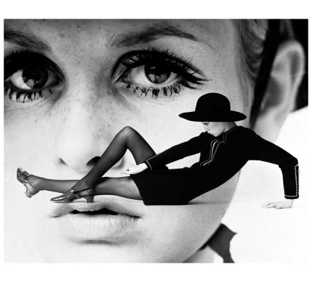 Twiggy, New York Times, 1967 - Photo Gosta Peterson b