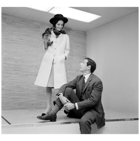 Marc Bohan Speaking with a Model