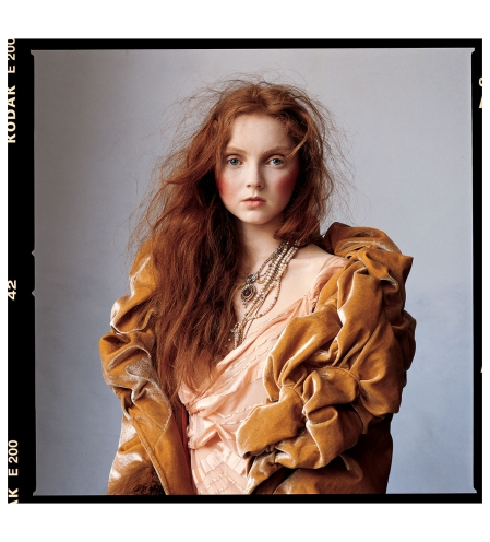 Lily Cole  Irving Penn, Vogue, July 20052