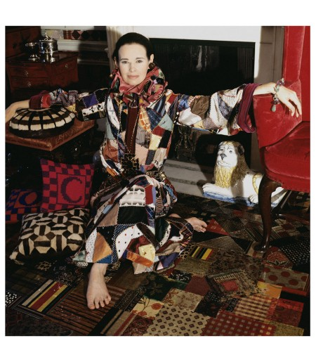 Gloria Vanderbilt, 1970 Photo Horst P. Host, Vogue, February 1, 1970