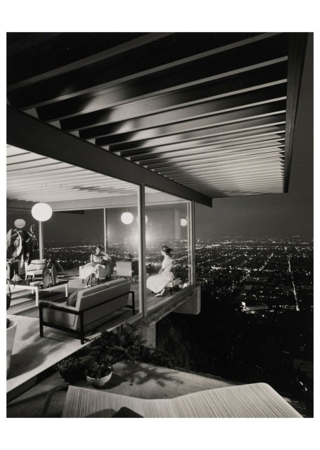 Julius Shulman, Selected Images of Case Study House #22, Los Angeles (Stahl House by Pierre Koenig), 1960