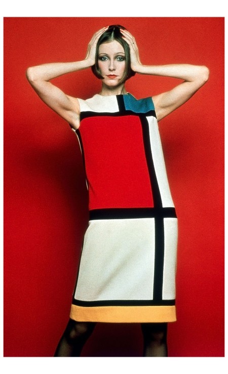 "Yves Saint Laurent's Mondrian dress,"" crowed fashion journalist Eugenia Sheppard in 1965"