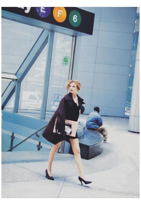 Bridget Hall Photo Arthur Elgort, Vogue, August 1994