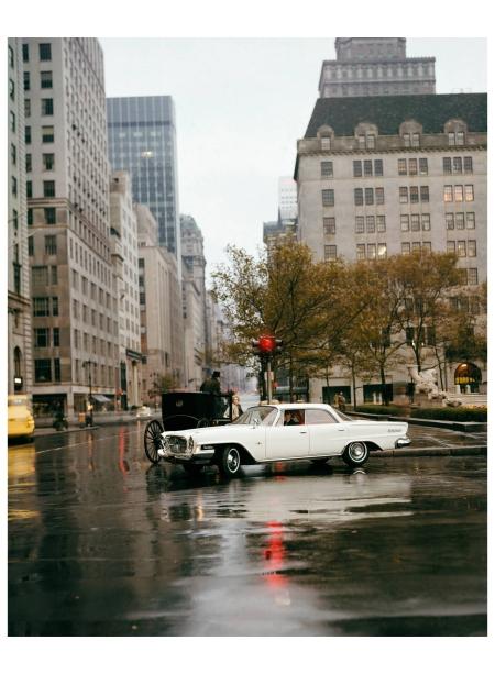 Chrysler New Yorker, 1961 Photo William Helburn