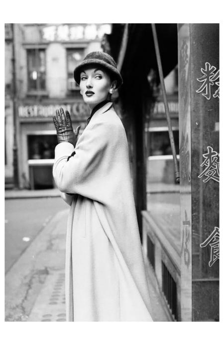 Evelyn Tripp, for Douglas Simon, 1955 Photo William Helburn