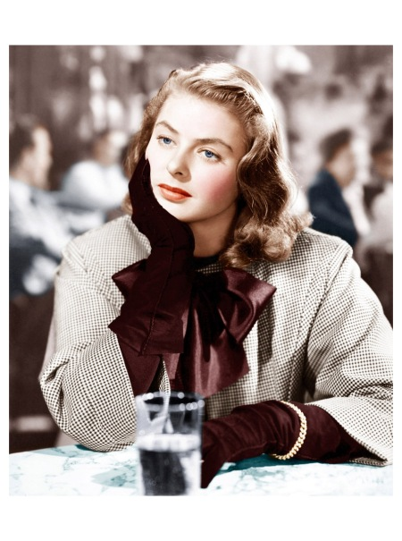 Ingrid Bergman in %22Notorious,%22 1946