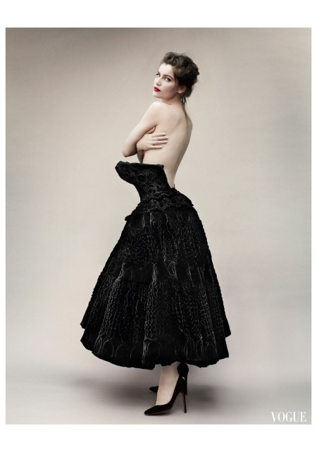 Laetitia Casta Vogue Paris 2012 Photo Mario Testino